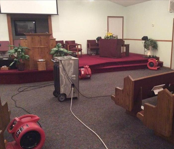 Water Cleanup In Church