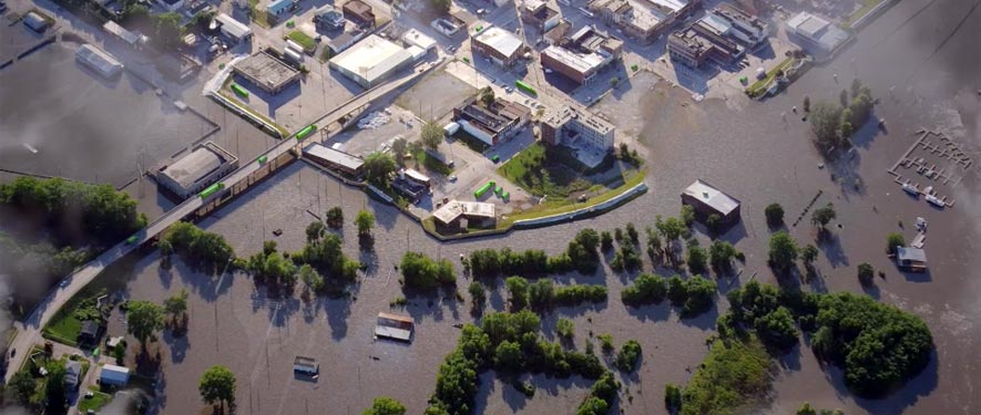 Terre Haute, IN commercial storm cleanup